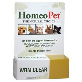 Homeopet Homeopet WRM Clear Animals