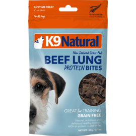 K9 Naturals K9 Natural Beef Lung Protein Bites 2.1oz