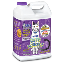 Lucy's Lucy Cat Incredible Litter Lavender 20# Jug