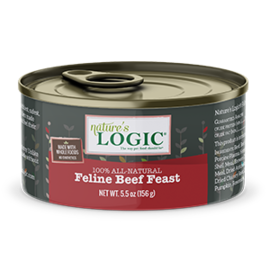 Nature's Logic Nature's Logic Cat GF Beef 5.5oz