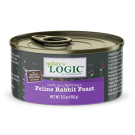 Nature's Logic Nature's Logic Cat Rabbit 5.5oz