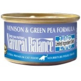 Natural Balance Natural Balance LID Venison,Green Pea Cat 5.5oz