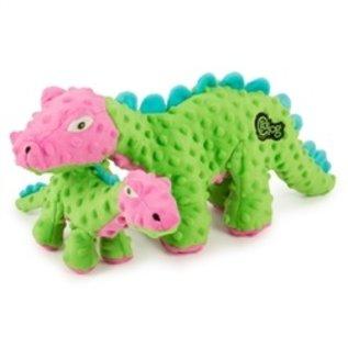 Go Dog Go Dog Dinos Spike Green & Pink LRG