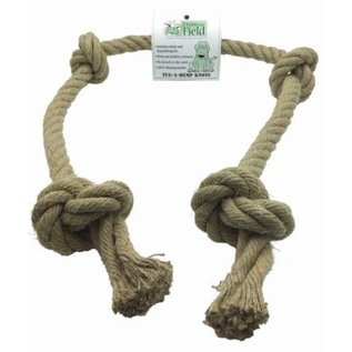 From the Field From the Field Tug-A-Hemp Knots 4ft