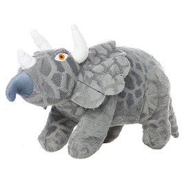 VIP Pet Products Mighty Dog JR Dino Triceratops Sm
