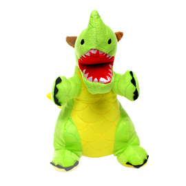 VIP Pet Products Mighty Dog Dragon Green JR