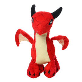 VIP Pet Products Mighty Dog Dragon Red JR