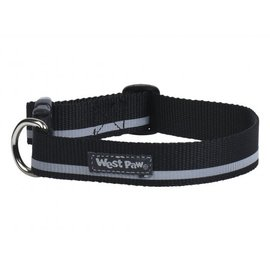 West Paw West Paw Dog Collar Black LG