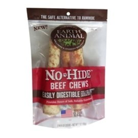 Earth Animal Earth Animal No Hide Beef Chew 4'' 2 Pack