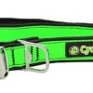 Cycle Dog Cycle Dog Collar Reflective Green Medium