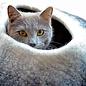 Distinctly Himalayan Distinctly Himalayan Felted Cat Cave Ombre B&W