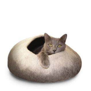 Distinctly Himalayan Distinctly Himalayan Felted Cat Cave Ombre Natural