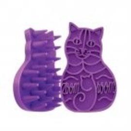 KONG Kong Zoom Groom Cat Purple