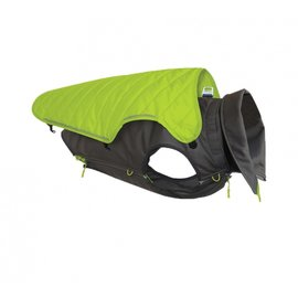 Outward Hound Outward Hound Telluride 2 in 1 Coat Green Medium