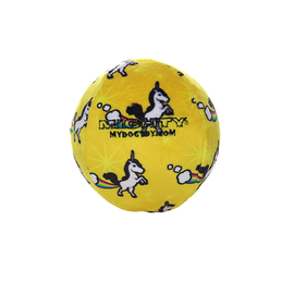 VIP Pet Products Mighty Dog Jr Ball Yellow