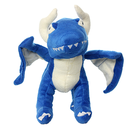 VIP Pet Products Mighty Dog Dragon Blue