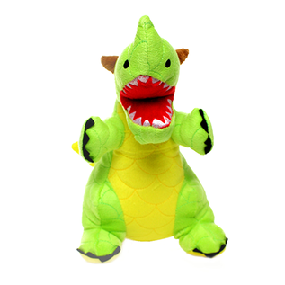 VIP Pet Products Mighty Dog Dragon Green