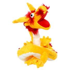 VIP Pet Products Mighty Dog Dragon Yellow