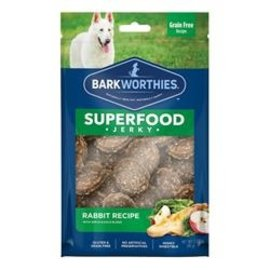 Barkworthies Barkworthies Apple & Kale Rabbit Jerky 4oz