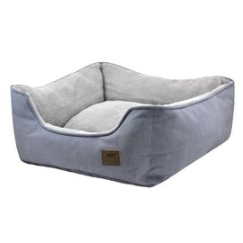 Tall Tails Tall Tails Dog Bolster Bed Gray SM