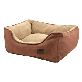 Tall Tails Tall Tails Dog Bolster Bed Brown MD