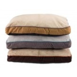 Dallas Mfg. Co. Dallas Manufacturing Faus Suede Gusseted Pet Bed 27X36