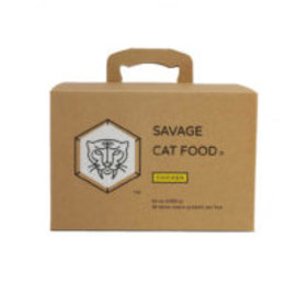 Savage Cat Chicken Large 3oz 28 Count