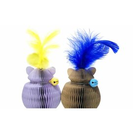 Doyenworld Cat Honeycomb Catnip Toy Lavender