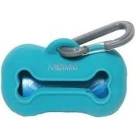 Messy Mutts Messy Mutts Poop Bag Holder Blue