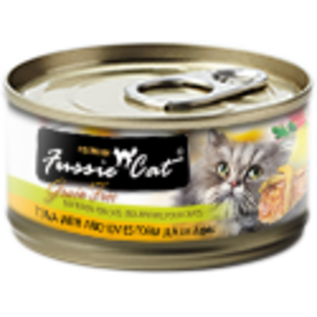 Fussie Cat Fussie Cat Tuna with Anchovies Formula in Aspic 5.5oz