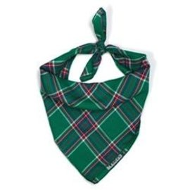 The Worthy Dog The Worthy Dog Kelly Plaid Bandanna LG