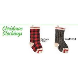 Chilly Dog Chilly Dog Christmas Stocking Plaid
