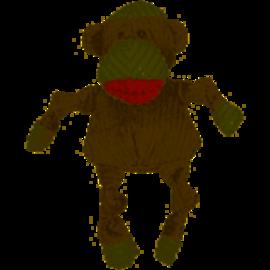 Huggle Hound HuggleHounds Knottie Sock Monkey LG