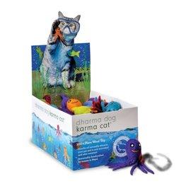 Distinctly Himalayan Aquatic Wool Cat Toy