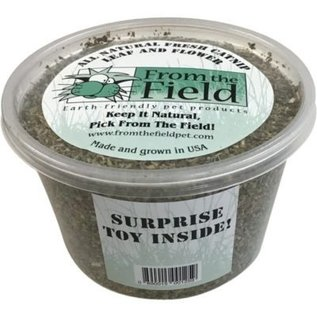 From the Field All Natural Catnip Leaf & Flower Surprise Included 2oz Tub