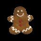 Bosco & Roxy's Gingerbread Boy