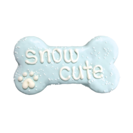"Bosco & Roxy Bosco & Roxy's Snow Cute 6"" Bone"