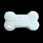 "Bosco & Roxy's Snow Cute 6"" Bone"