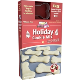 Puppy Cake Puppy Cake Holiday Cookie Mix For Dogs With Cookie Cutter