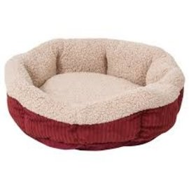 Aspen Pet Oval Self Warming Pet Bed 19""
