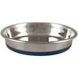 OurPet's Premium Rubber Bottom Stainless Steel Cat Bowl 16oz
