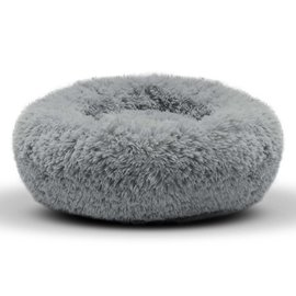 "DM Russian Hat Long Fur Hat Bed 16"" Round"