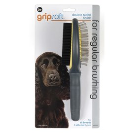 JW Dog Grip Soft Double Sided Brush