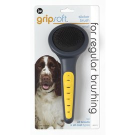 JW Products JW Dog Grip Soft Slicker Brush Small
