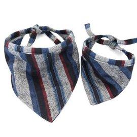 Mimi Green Mimi Green Taos Stripes Flannel Bandanna MD