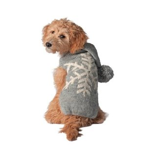 Chilly Dog Chilly Dog Sweater Black and White Medium