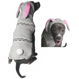 Chilly Dog Chilly Dog Sweater Bunny Medium