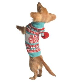 Chilly Dog Chilly Dog Sweater Peppermint Large