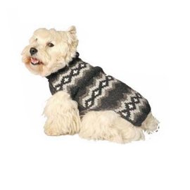 Chilly Dog Chilly Dog Sweaters Diamonds Gray XS