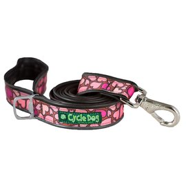 Cycle Dog Cycle Dog Pink Hearts Leash 6ft
